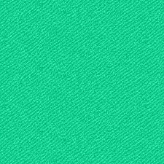 Libs Elliott Phosphor Aurora Green 9354-G Printed Denim Texture Cotton Fabr