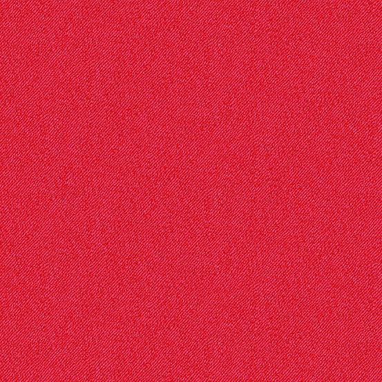 Libs Elliott Phosphor Rocket Red 9354-R Printed Denim Texture Cotton Fabric
