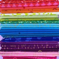 Limited Edition Libs Elliott Rainbow 20 Fat Quarter Bundle Cotton Fabric Cloth Stack