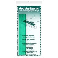 "Add-An-Eighth Plus 9"" Ruler Add An Eighth For Foundation Paper Piecing by CM Designs"