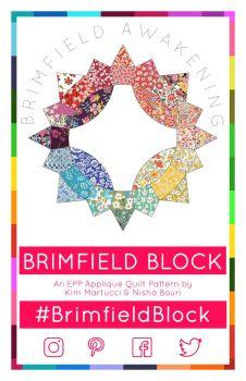 Brimfield Block EPP English Paper Piecing Pattern ONLY