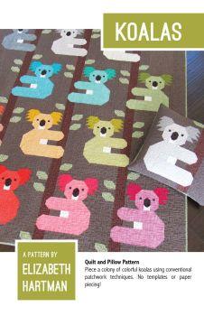 Elizabeth Hartman Koalas Koala Bear Quilt Pattern