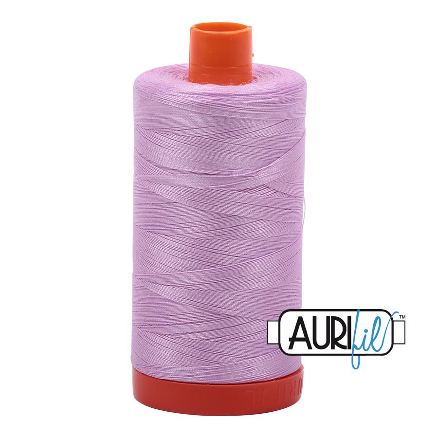 Aurifil 50wt Cotton Thread Large Spool 1300m 2515 Light Orchid