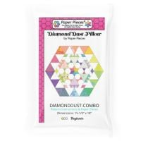 Diamond Dust Pillow Quilt Pattern & Complete EPP English Paper Piecing Paper Piece Pack