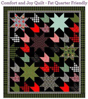 PRE-ORDER Holiday Homies Tula Pink Comfort & Joy Quilt Fabric Kit