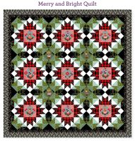 PRE-ORDER Holiday Homies Tula Pink Merry & Bright Quilt Fabric Kit