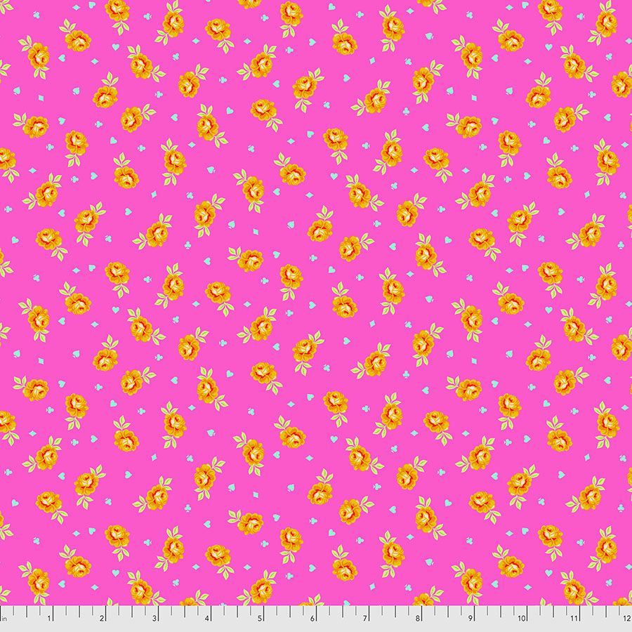 PRE-ORDER Tula Pink Curiouser and Curiouser Baby Buds Wonder Cotton Fabric