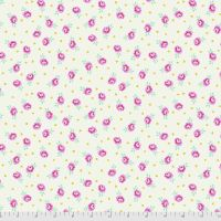 Tula Pink Curiouser and Curiouser Baby Buds Sugar Cotton Fabric