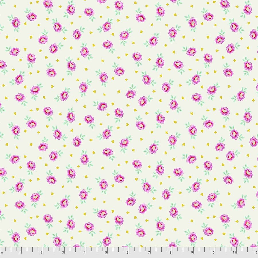 PRE-ORDER Tula Pink Curiouser and Curiouser Baby Buds Sugar Cotton Fabric