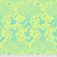 PRE-ORDER Tula Pink Curiouser and Curiouser Down The Rabbit Hole Bewilder Cotton Fabric