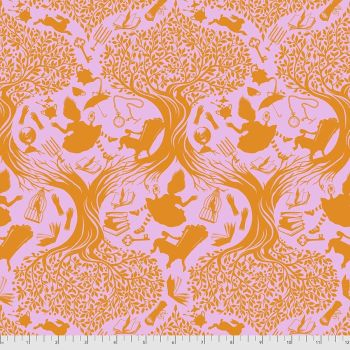 PRE-ORDER Tula Pink Curiouser and Curiouser Down The Rabbit Hole Wonder Cotton Fabric
