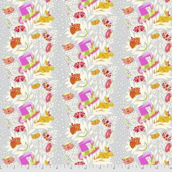 PRE-ORDER Tula Pink Curiouser and Curiouser 6pm Somewhere Wonder Cotton Fabric