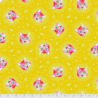 PRE-ORDER Tula Pink Curiouser and Curiouser Cheshire Cat Wonder Cotton Fabric