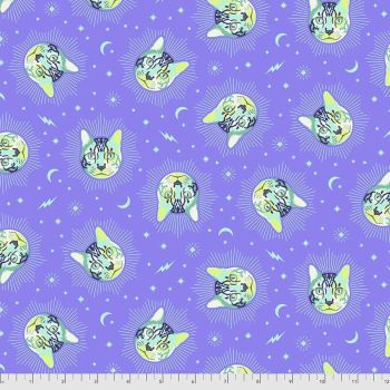PRE-ORDER Tula Pink Curiouser and Curiouser Cheshire Cat Daydream Cotton Fabric