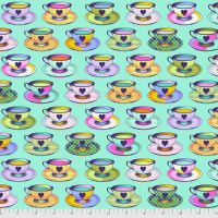 PRE-ORDER Tula Pink Curiouser and Curiouser Tea Time Daydream Cotton Fabric