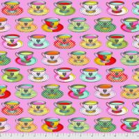 Tula Pink Curiouser and Curiouser Tea Time Wonder Cotton Fabric