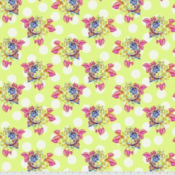 PRE-ORDER Tula Pink Curiouser and Curiouser Painted Roses Sugar Cotton Fabric