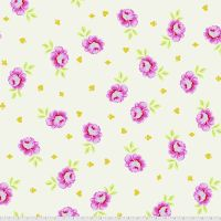"PRE-ORDER Tula Pink Curiouser and Curiouser Big Buds Wonder Quilt Backing 108"" 2.70m Extra Wide Cotton Fabric"