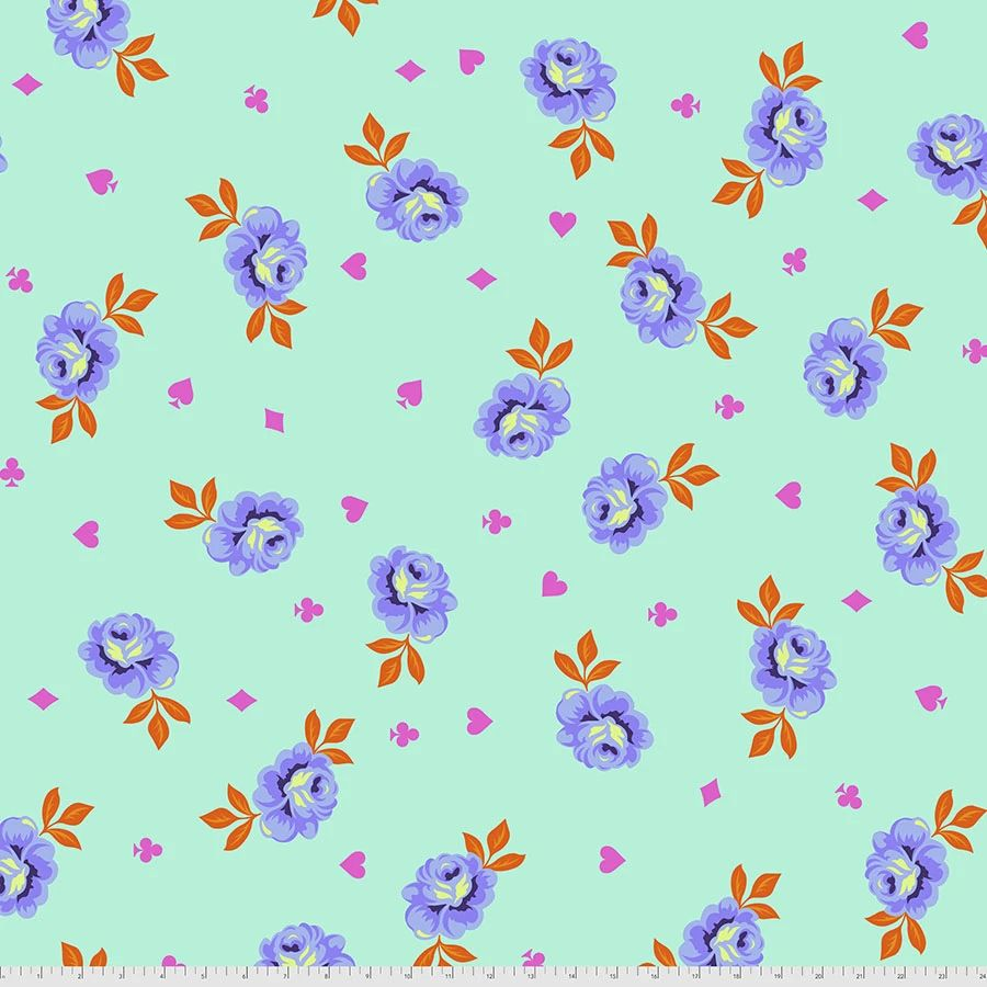PRE-ORDER Tula Pink Curiouser and Curiouser Big Buds Daydream Quilt Backing