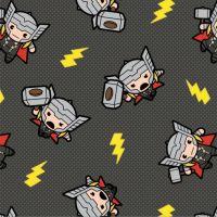 Marvel Avengers Thor Superhero Kawaii Superheroes Character Cotton Fabric
