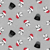 Disney Star Wars Darth Vader and Storm Troopers Christmas Hat Stormtrooper Holiday Festive Cotton Fabric