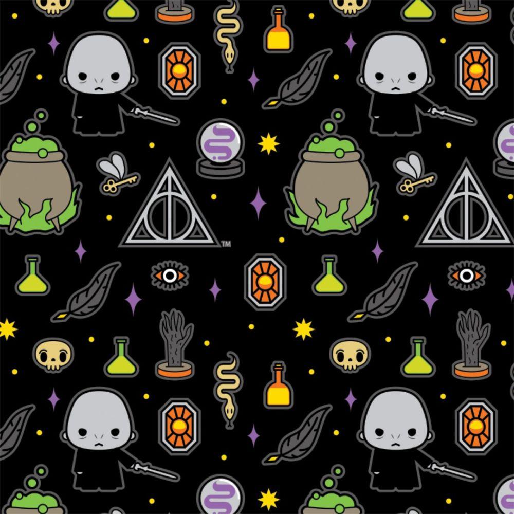 Harry Potter Kawaii Voldemort Deathly Hallows Dark Magic Icons Black Hogwar