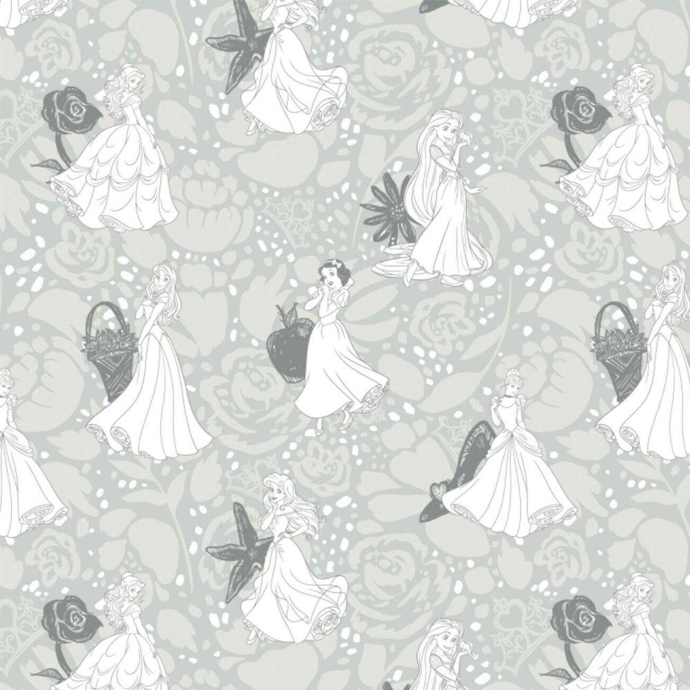 Disney Princess Floral Belle Snow White Cinderella Rapunzel Ariel Sketch Ch