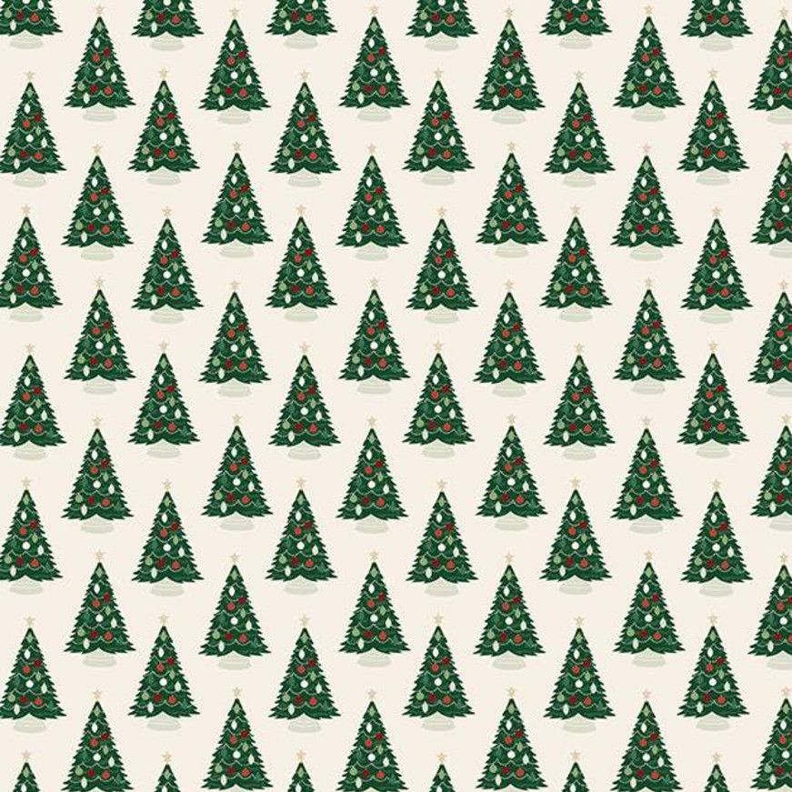 Christmas Traditions Christmas Trees Cream Festive Holiday Winter Cotton Fa