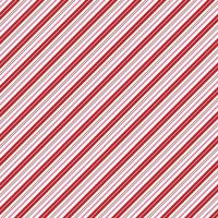 Santa Claus Lane Candy Stripes Red Bias Stripe Diagonal Christmas Festive Holiday Winter Cotton Fabric