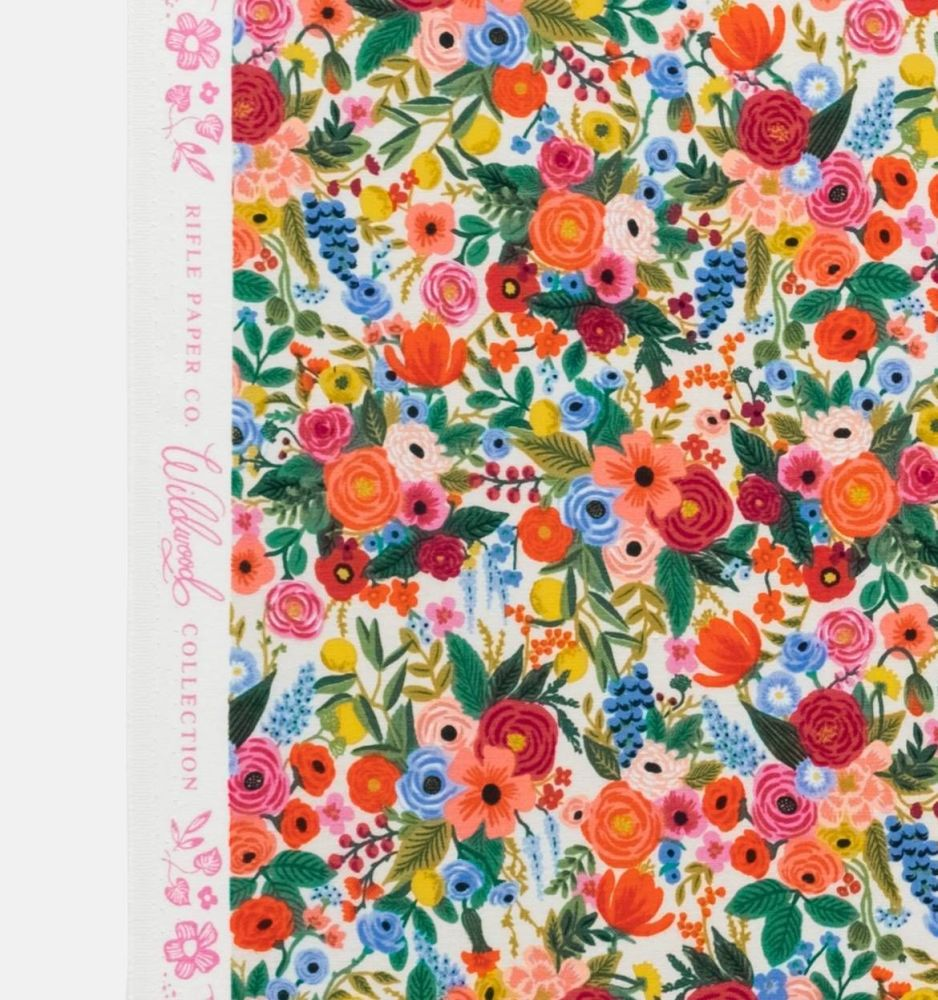 Rifle Paper Co. Wildwood Petite Garden Party Cream Rose Floral Botanical Co