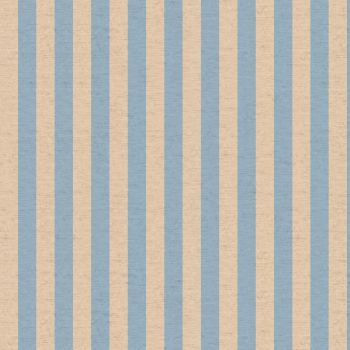 Rifle Paper Co Primavera Cabana Stripe Periwinkle Floral Botanical Cotton Linen Canvas Fabric