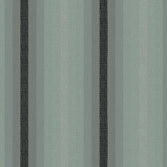 Alison Glass Kaleidoscope Stripes and Plaids Charcoal Stripe Shot Woven WV9