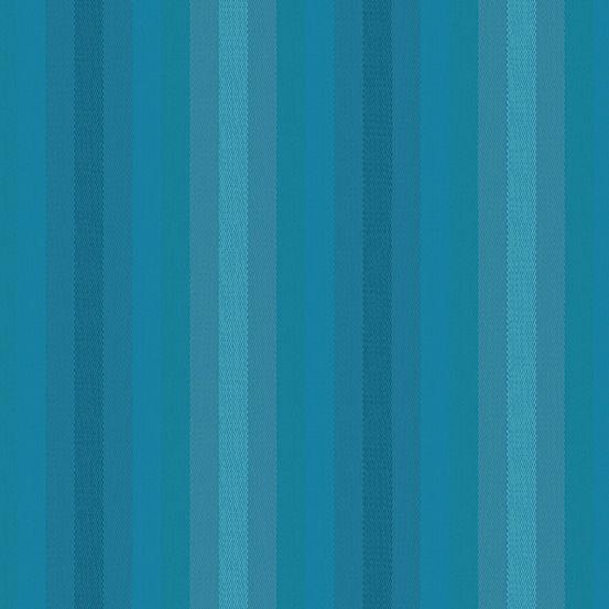 Alison Glass Kaleidoscope Stripes and Plaids Denim Stripe Shot Woven WV9540