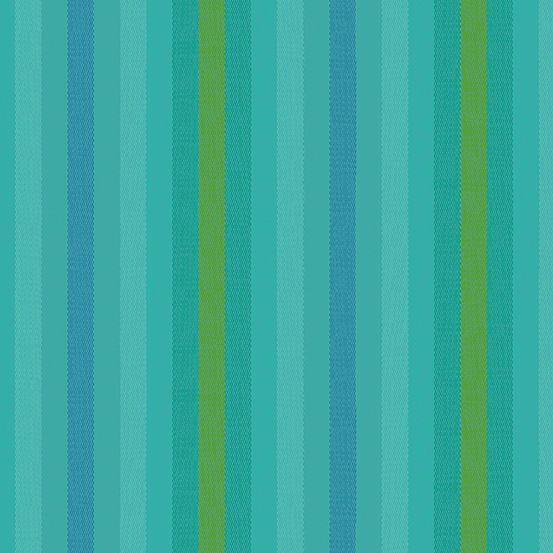 Alison Glass Kaleidoscope Stripes and Plaids Teal Stripe Shot Woven WV9540-