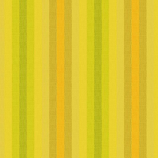 Alison Glass Kaleidoscope Stripes and Plaids Sunshine Stripe Shot Woven WV9