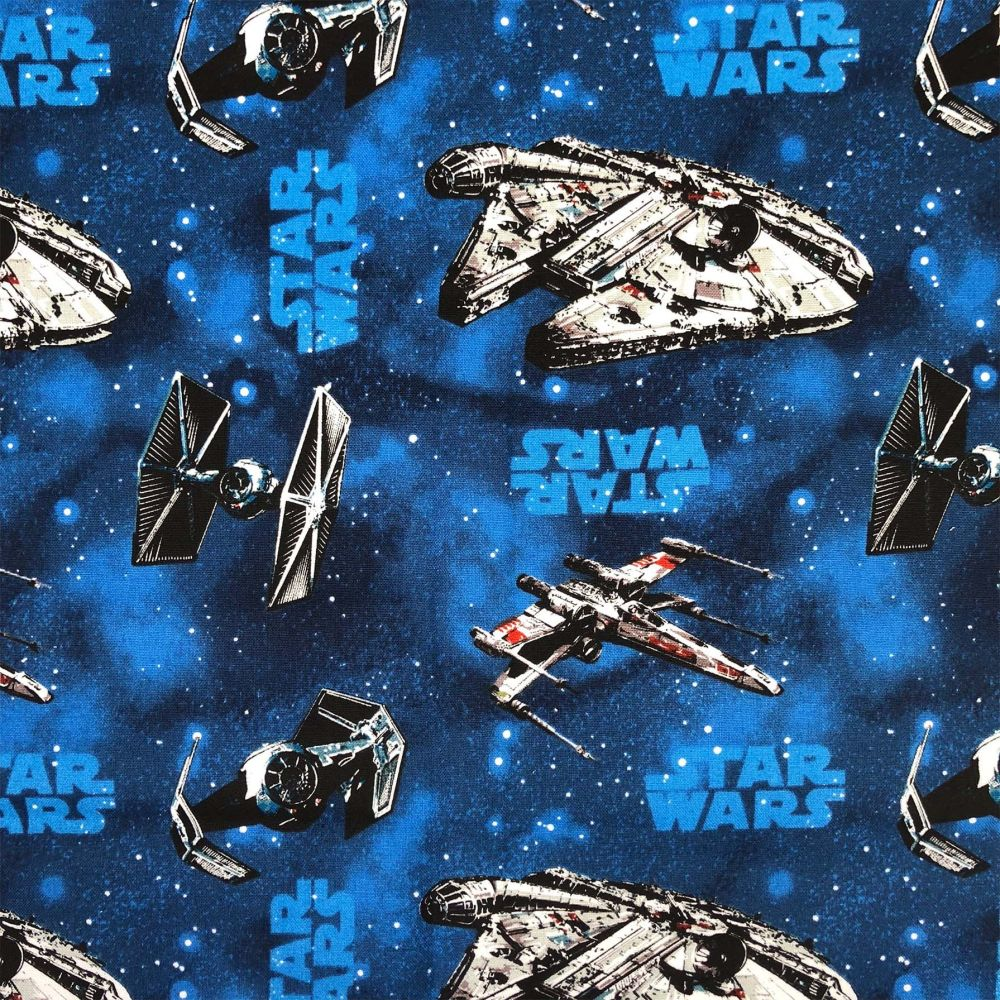 Star Wars Immortals Ships Blue Millienium Falcon TIE Fighter Space Battle C
