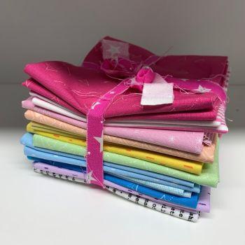 DESTASH Great British Quilter Stash Starter Bundle Cotton Fabric Stash Stack