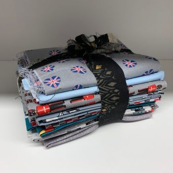 DESTASH British Stash Starter Bundle Cotton Fabric Stash Stack