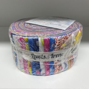 DESTASH Lewis & Irene Hann's House Jelly Roll 2.5 Inch Strips