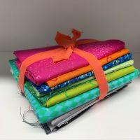 DESTASH Libs Elliott Rainbow Stash Starter Bundle Cotton Fabric Stash Stack