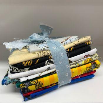 DESTASH Harry Potter A Starter Bundle Cotton Fabric Stash Stack