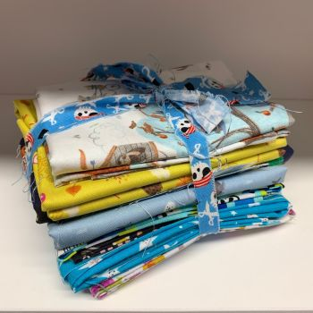 DESTASH Cute Nursery Stash Starter Bundle Cotton Fabric Stash Stack