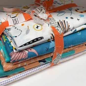 DESTASH Cuties Stash Starter Bundle Cotton Fabric Stash Stack