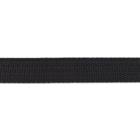 Bag Handles and Straps Webbing Black Polypropylene 25mm 1 inch Wide Polypro Strapping Per Metre