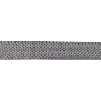 Bag Handles and Straps Webbing Charcoal Grey Polypropylene 25mm 1 inch Wide Polypro Strapping Per Metre