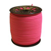 Narrow Banded Elastic 4mm Nylon Pink Per Metre