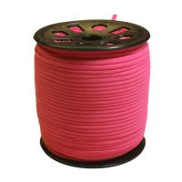 Narrow Banded Elastic 4mm Nylon Pink Per Metre