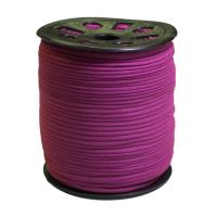 Narrow Banded Elastic 4mm Nylon Dark Purple Per Metre