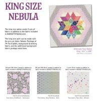 UK Nebula Block of the Month Kingsize True Colors Fabric Expansion - ORIGINAL FABRICS - UK Customers ONLY