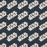 Star Wars Logo Toss Tiny Dots Logos Confetti Cotton Fabric